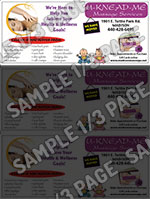 Sample One-Third Page Ad